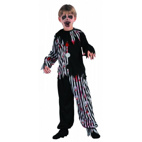 Déguisement clown arlequin enfant