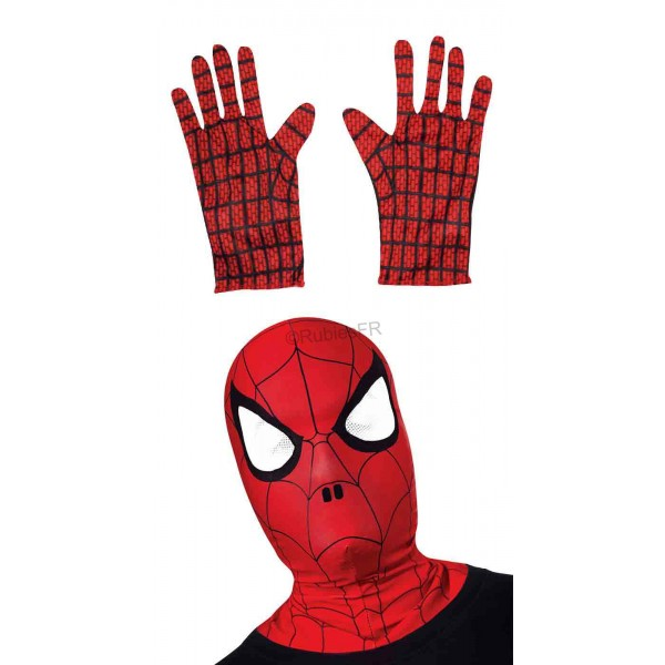 Masque et gants Spiderman enfant