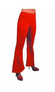 Pantalon Année 80 Rouge