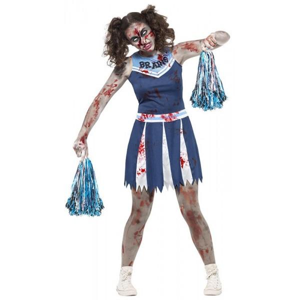 Déguisement pom pom girl zombie