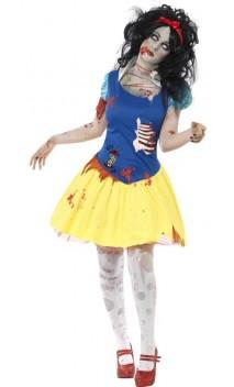 Costume Blanche Neige Zombie
