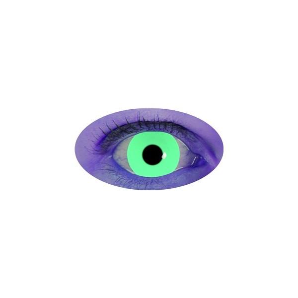 Lentilles Vert UV