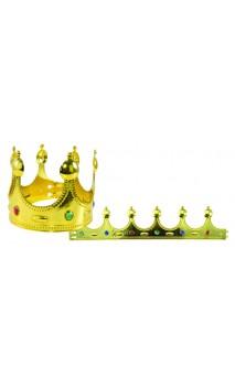 Couronne de roi, prince avec pierres