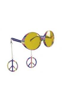 Lunette Hippie avec boucle d'oreille