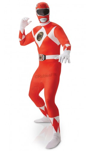 Power ranger rouge morphsuit