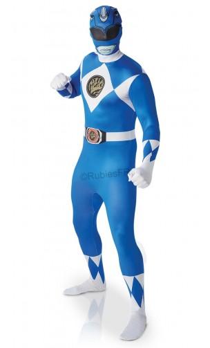 Power ranger bleu morphsuit