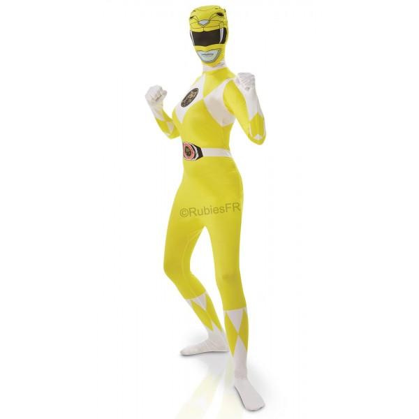 Power ranger jaune morphsuit