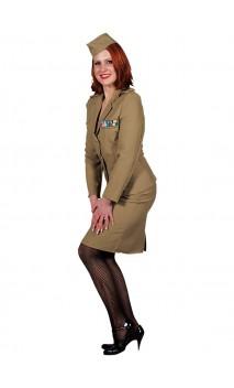 Officier militaire 1940's femme