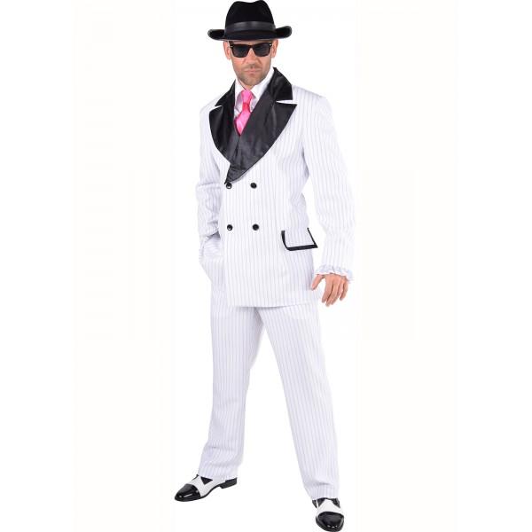 Déguisement borsalino gangster blanc 2