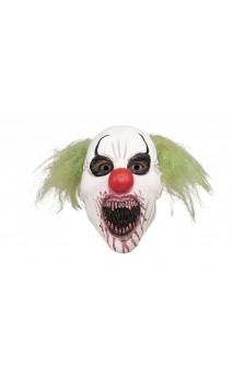 Masque clown cannibale intégral latex