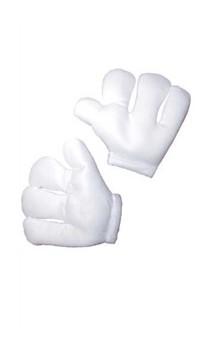 Gants géant blanc