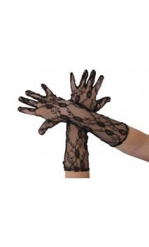 Gant dentelle noir