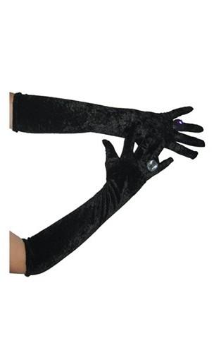 Gants longs Noir CH