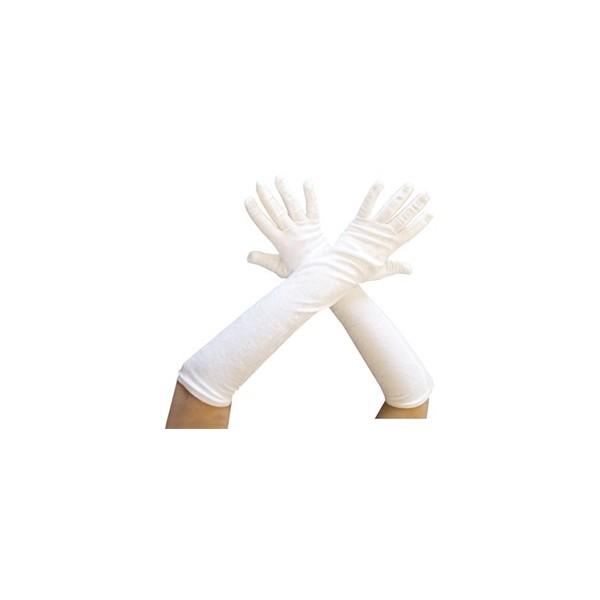 Gants longs Blanc CH