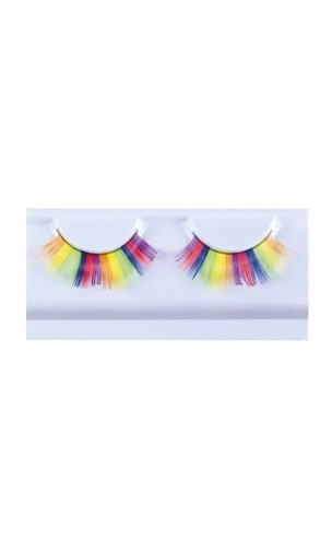 Faux cils Multicolore