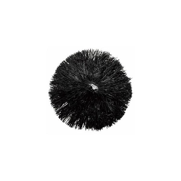 Pompom Luxe Noir