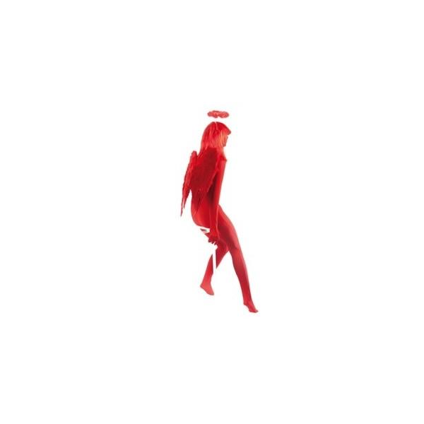 Ailes d'ange rouge 60 cm