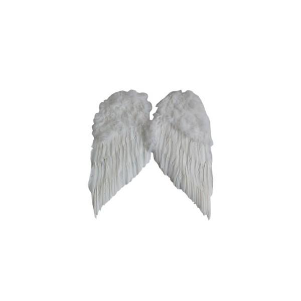 Ailes d'ange Blanc 60 cm