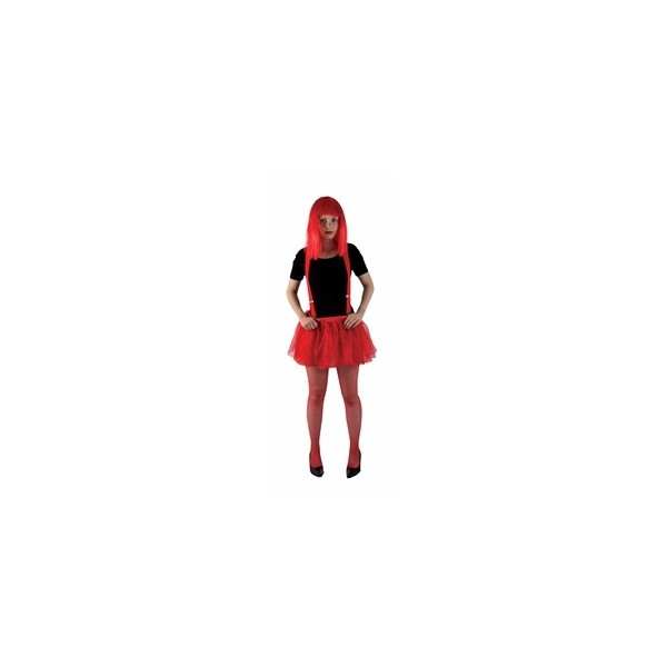 Bretelles rouge