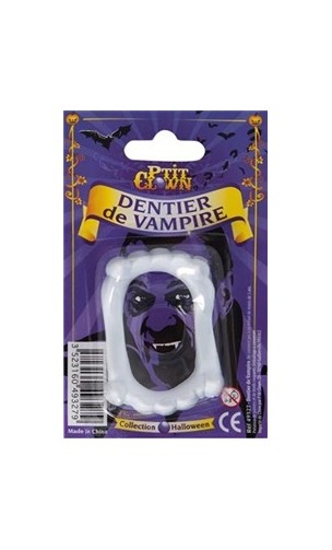 Dentier vampire simple