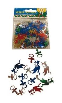 Confettis de table naissance