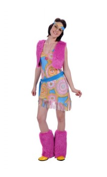 Costume Hippie Femme