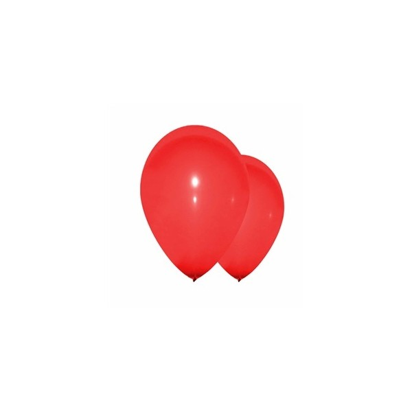 10 ballons rouge
