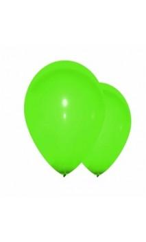 10 ballons vert