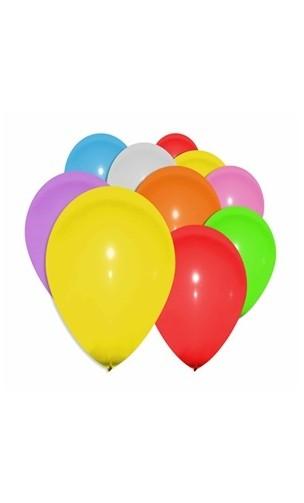 10 ballons multicolore