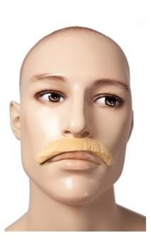 Moustache année 60 - 70 blond