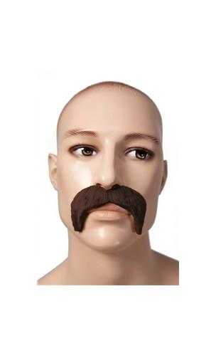 Moustache 1900 marron