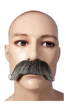Moustache Dandy 1900 gris