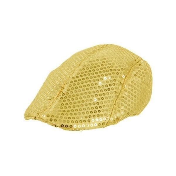 Béret disco dorée