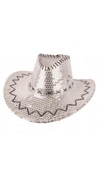Chapeau Cowboy Argenté