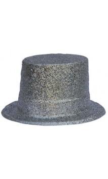 Chapeau HDF argent pailletés
