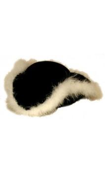 Chapeau Tricorne avec fourrure