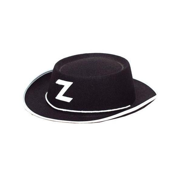 Chapeau Zorro enfant