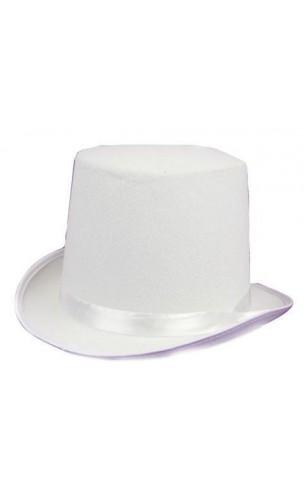 Chapeau HDF blanc adulte