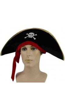 Chapeau capitaine pirate