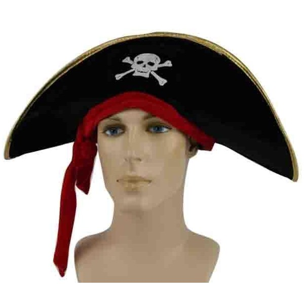 Chapeau capitaine pirate