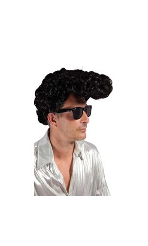 Perruque Elvis banane