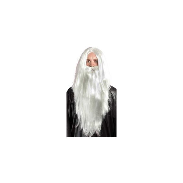 Perruque Mage blanc