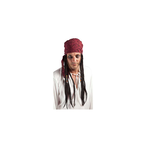 Perruque Pirate dreadlocks