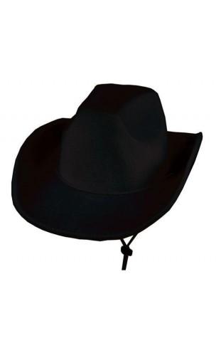 Chapeau Cowboy Noir 3