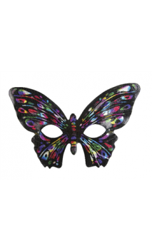 Loup Papillon multicolore