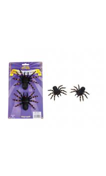 Araignée flockée