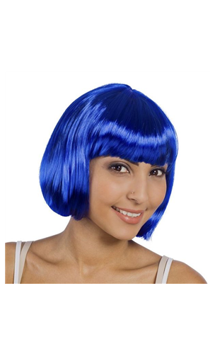 Perruque Cabaret Bleu