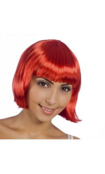 Perruque Cabaret Rouge
