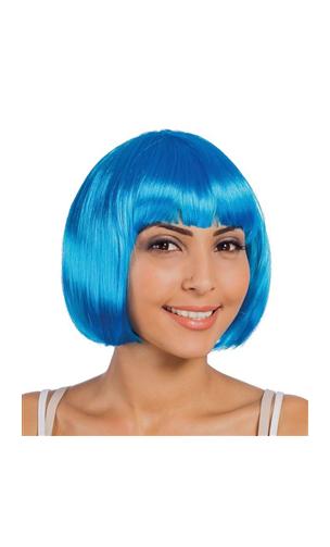 Perruque Cabaret Turquoise