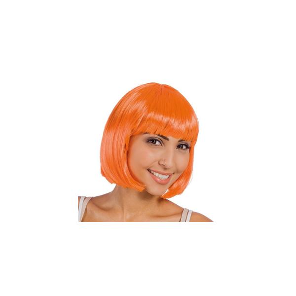 Perruque Cabaret Orange